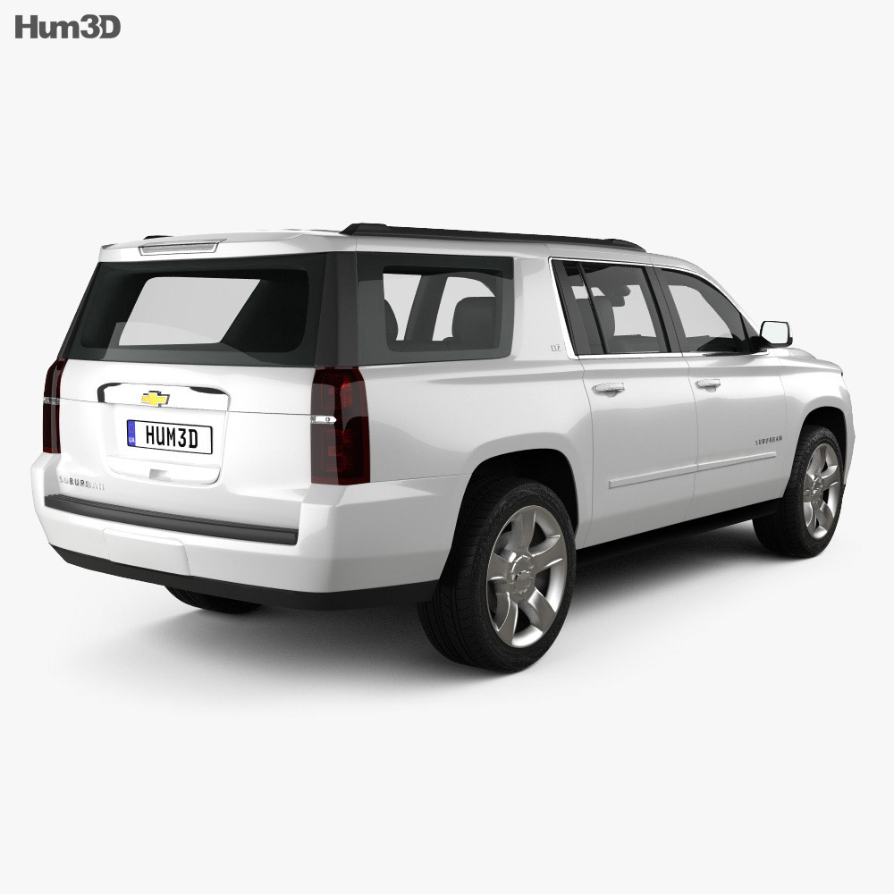 Chevrolet Suburban LTZ 2014 3d model