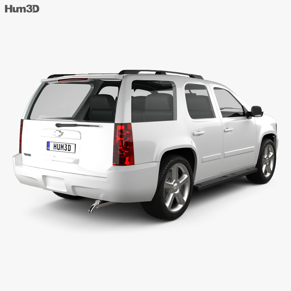 Chevrolet Tahoe (GMT900) 2010 3d model