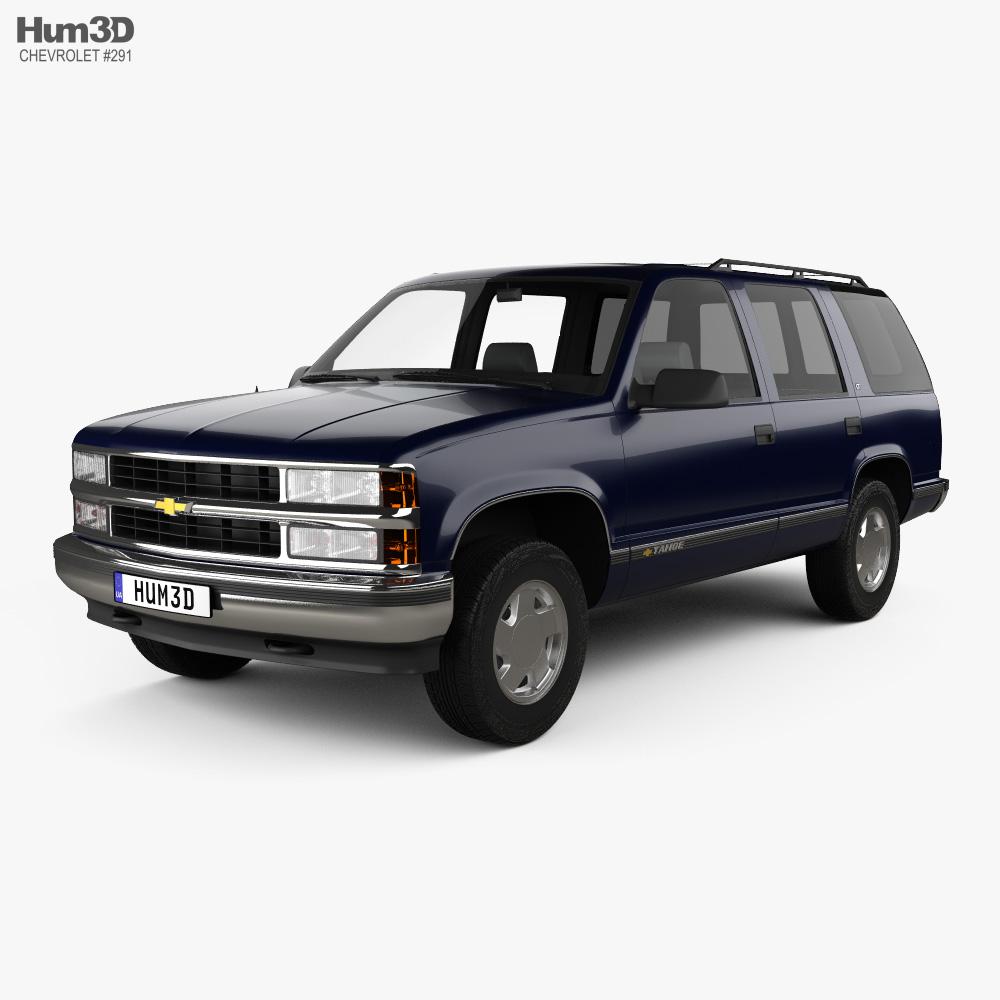 Chevrolet Tahoe LT 4-door 1995 3d model