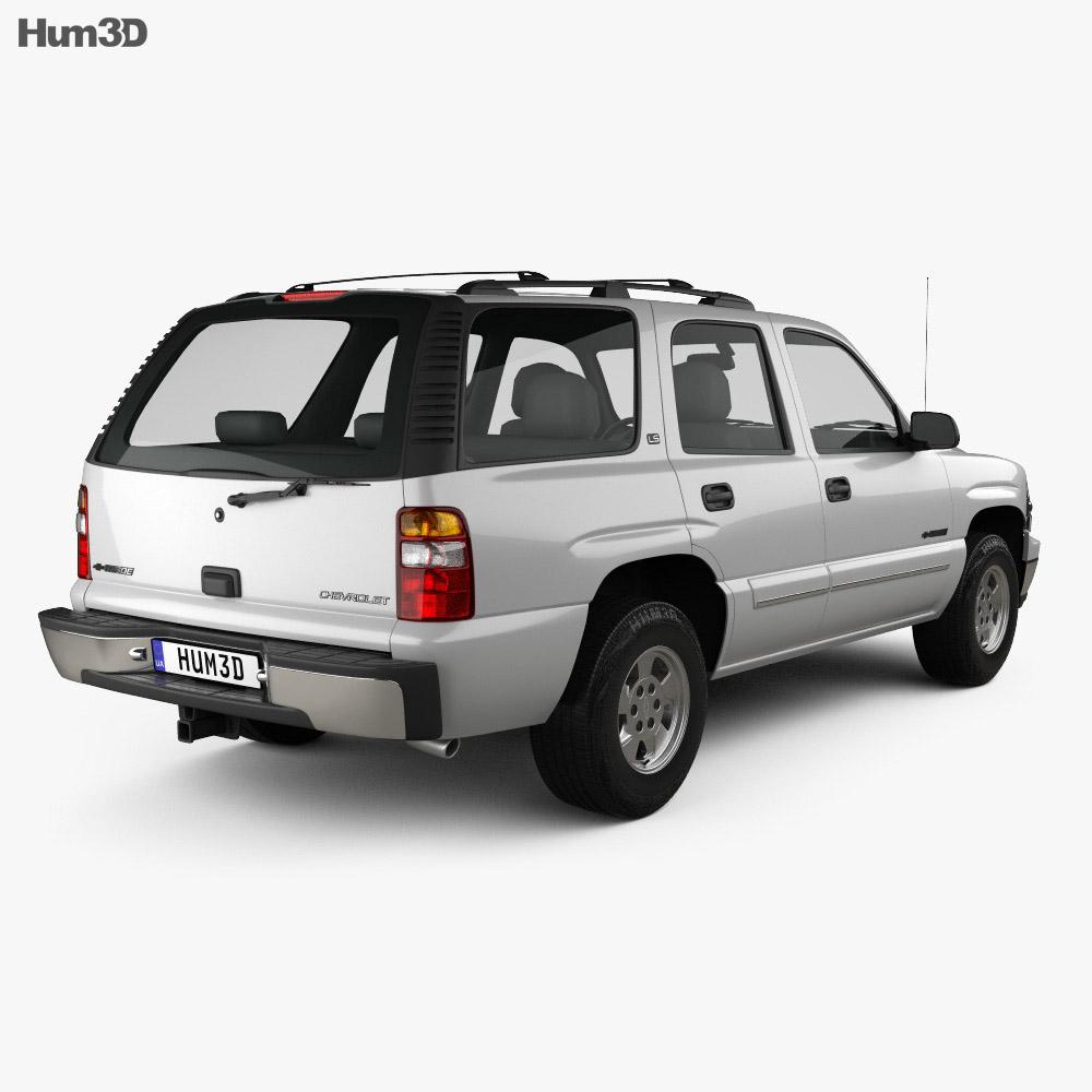 Chevrolet Tahoe LS 2002 3d model