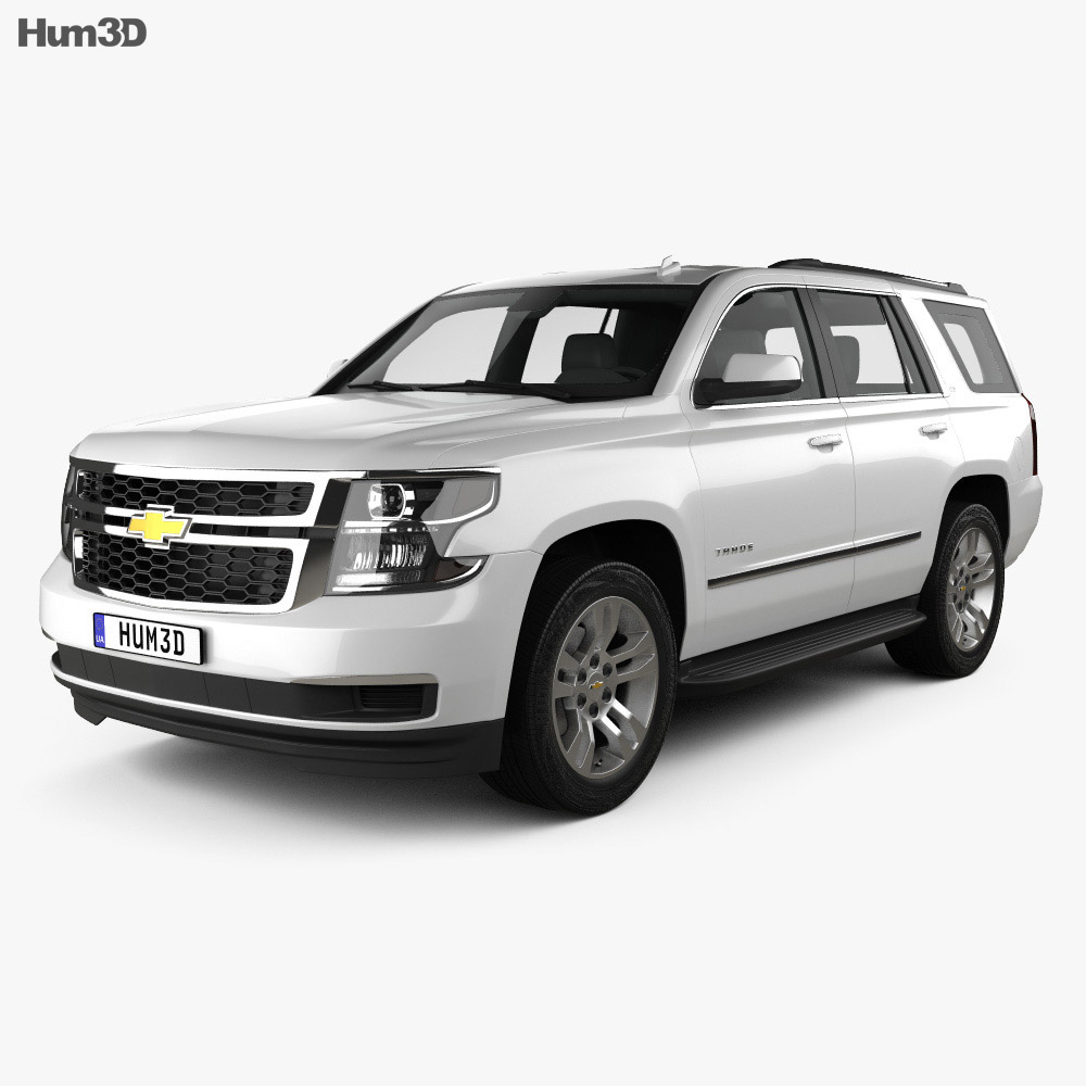chevrolet tahoe lt 2014 3d model hum3d. Black Bedroom Furniture Sets. Home Design Ideas