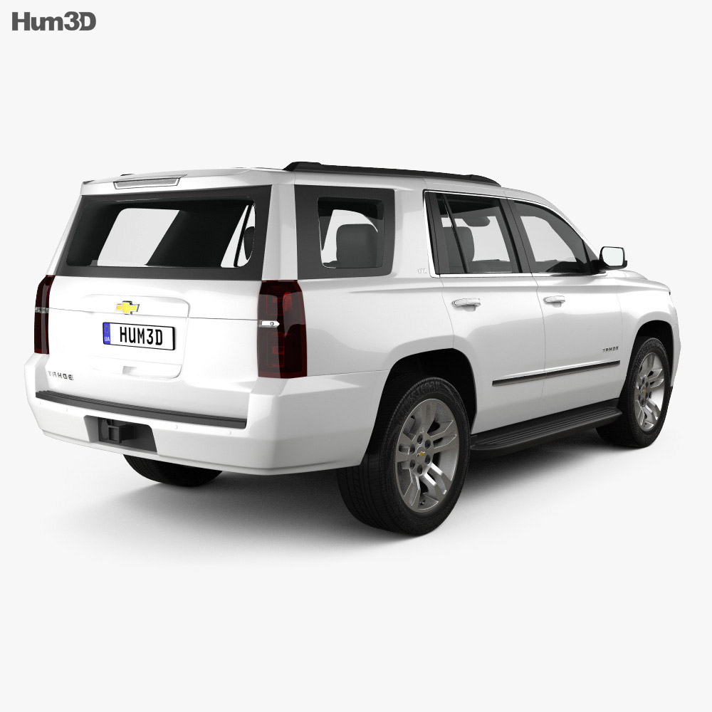 Chevrolet Tahoe LT 2014 3d model