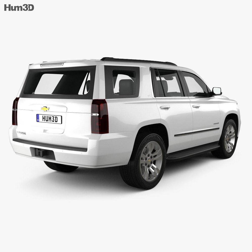 Chevrolet Tahoe LT 2014 3d model