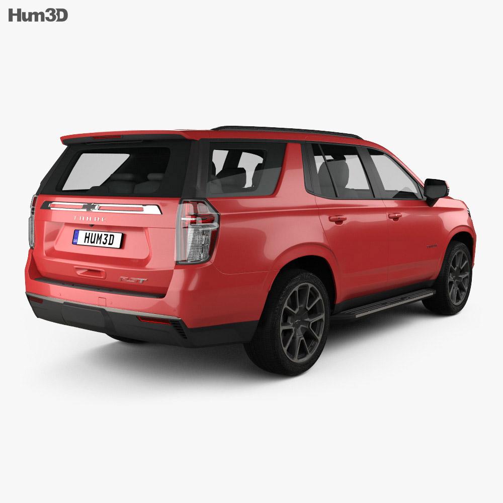 Chevrolet Tahoe RST 2020 3d model