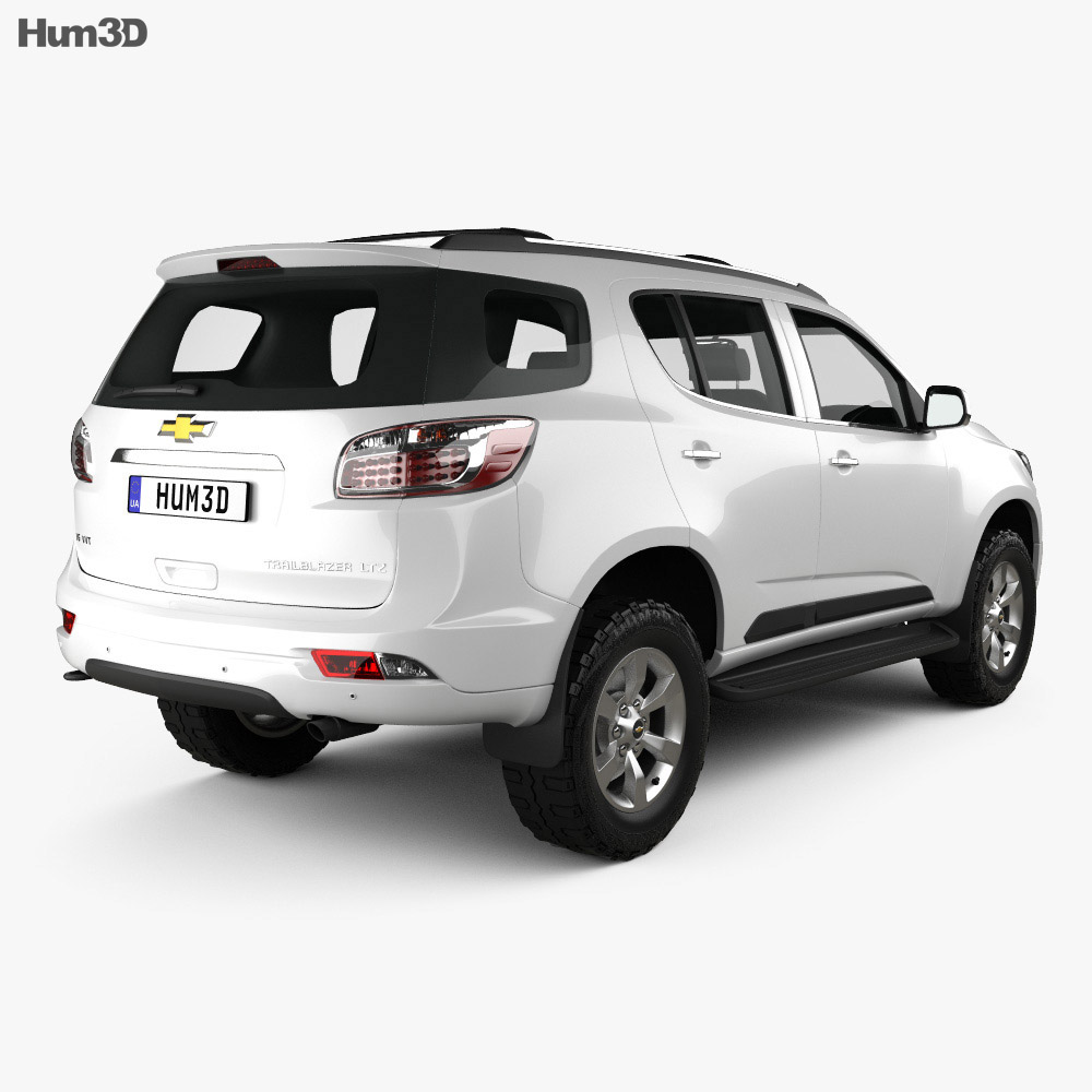 Chevrolet Trailblazer 2012 3d model
