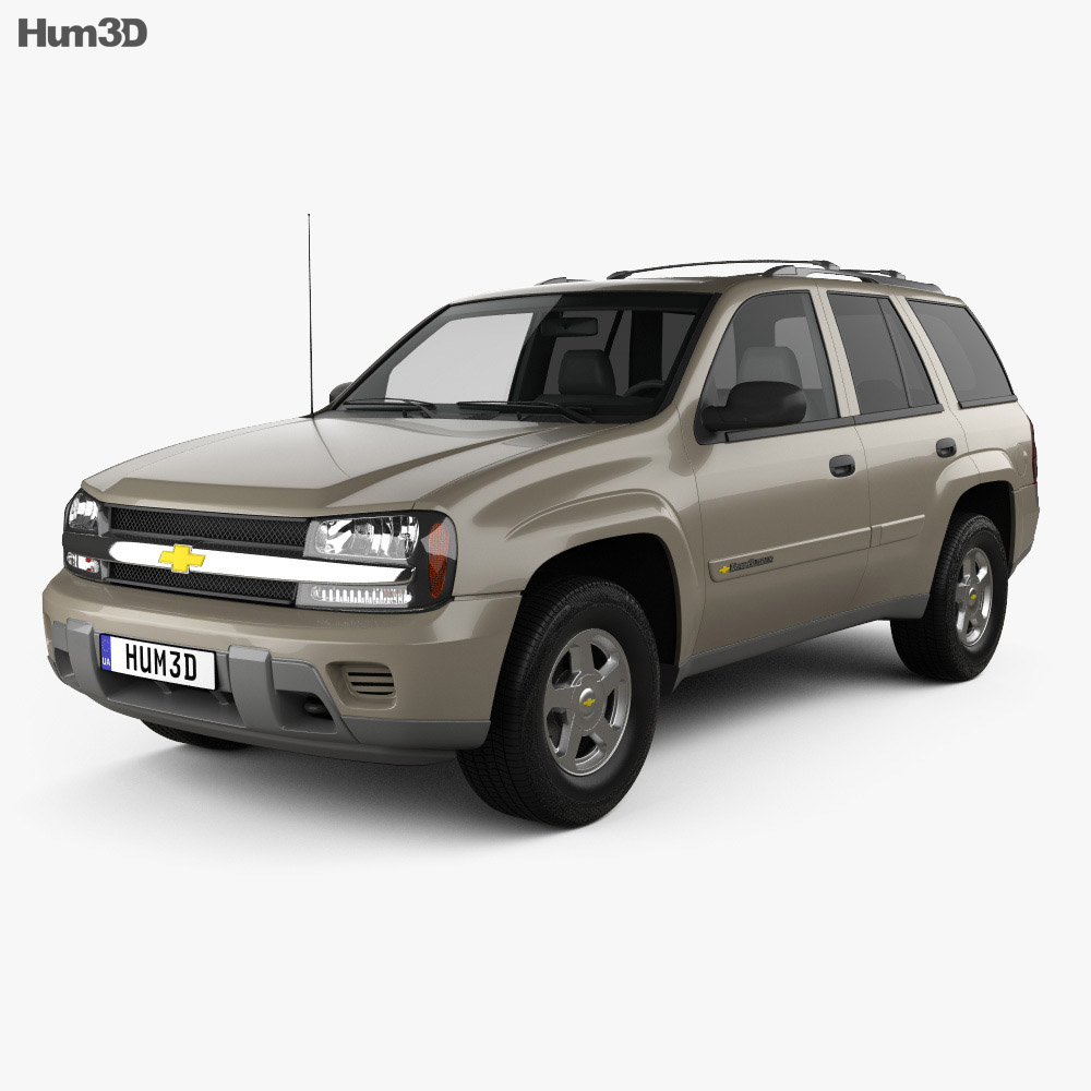 Chevrolet TrailBlazer LT 2002 3d model