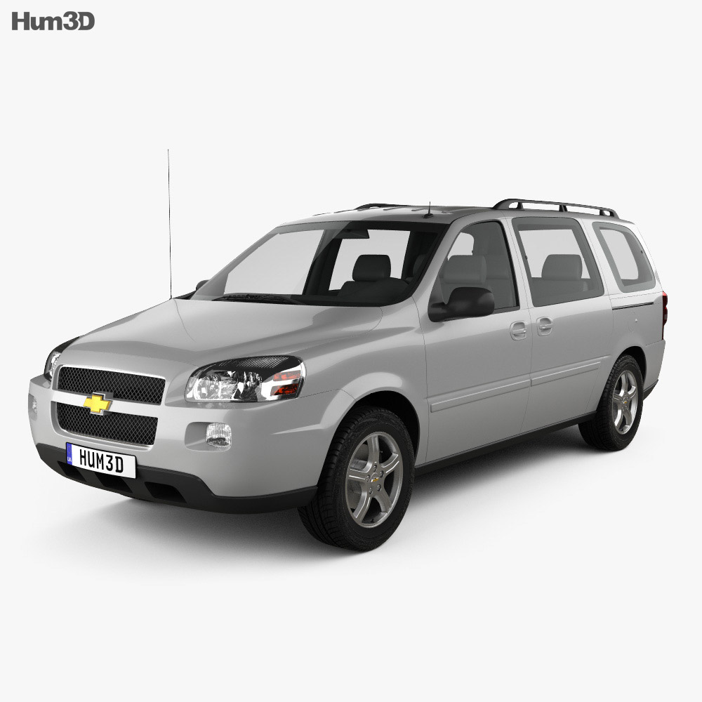 Chevrolet Uplander LS 2005 3d model