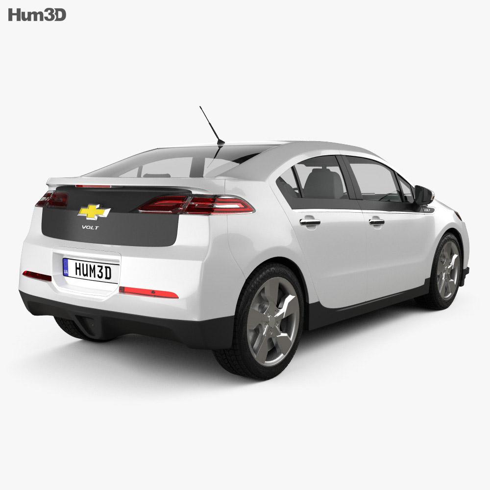 Chevrolet Volt 2011 3d model