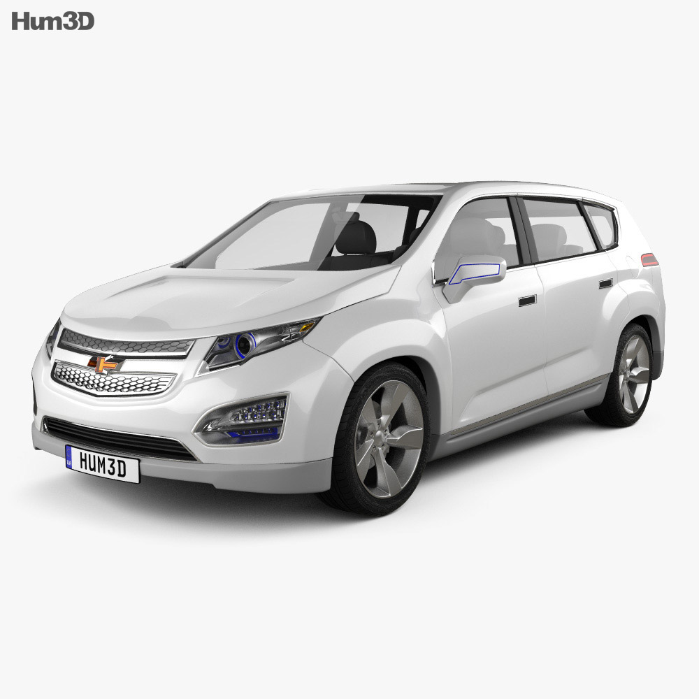 Chevrolet Volt MPV5 2012 3d model