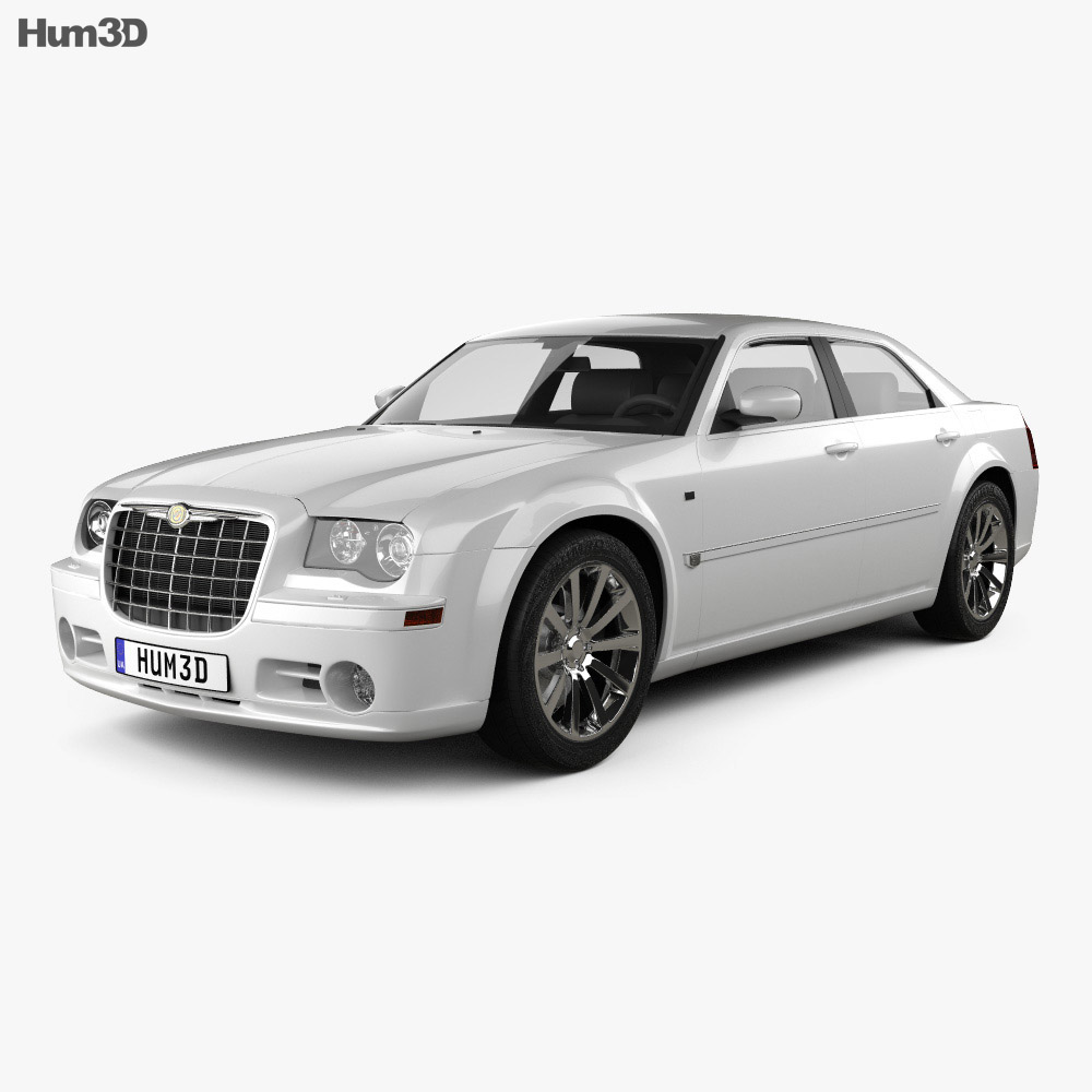 Chrysler 300C sedan 2009 3d model