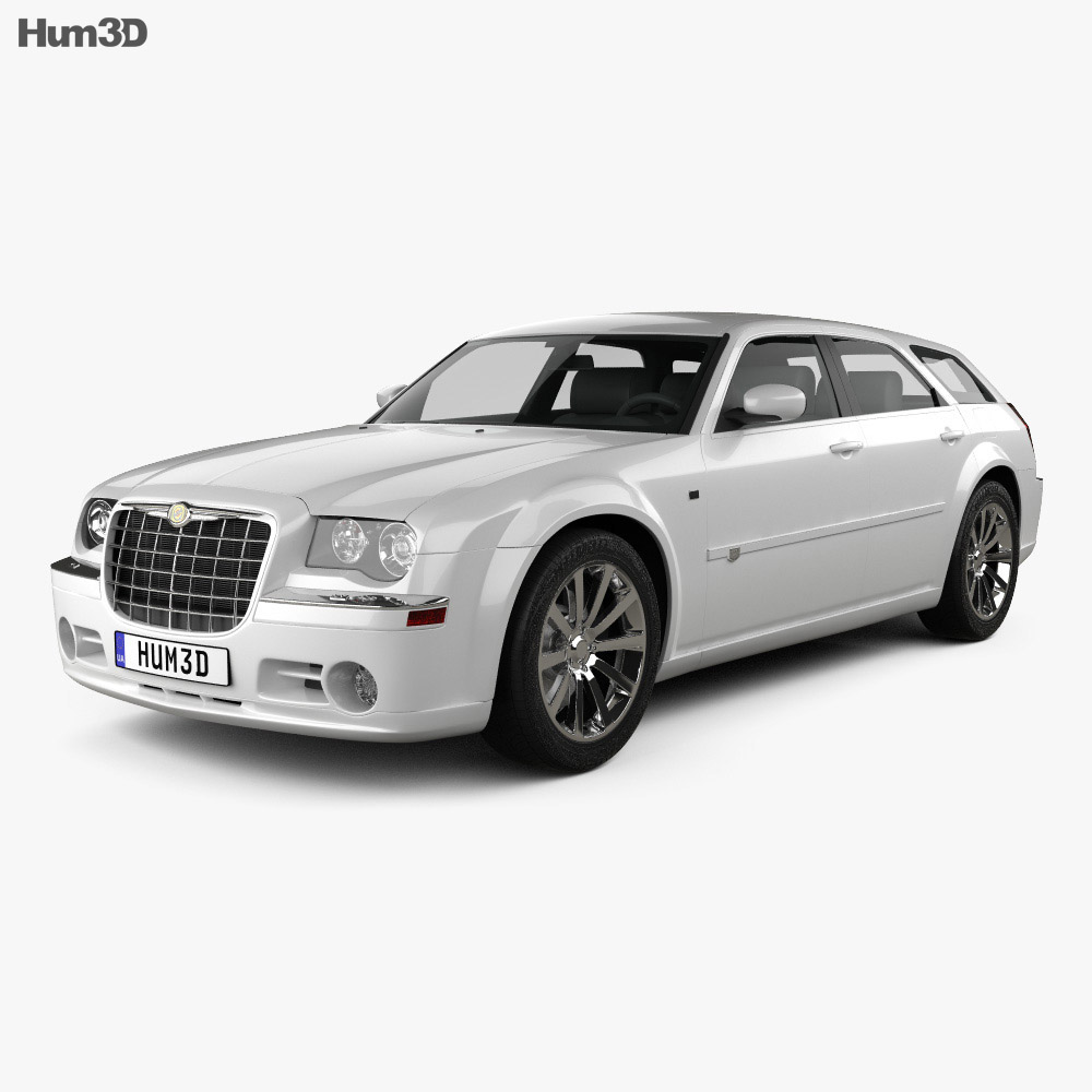 Chrysler 300C wagon 2009 3d model