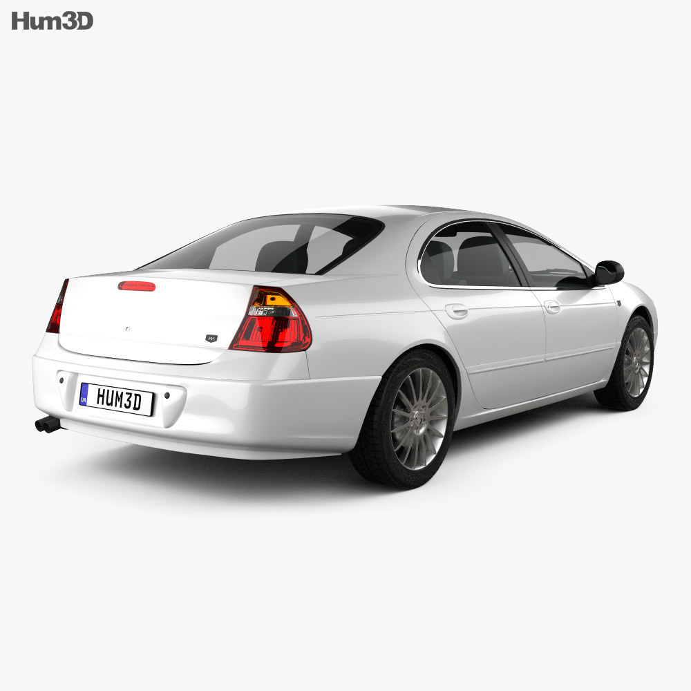 Chrysler 300M 2004 3d model