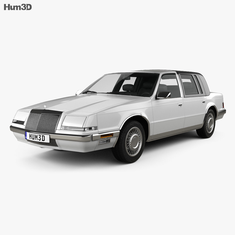 Chrysler Imperial 1989 3d model