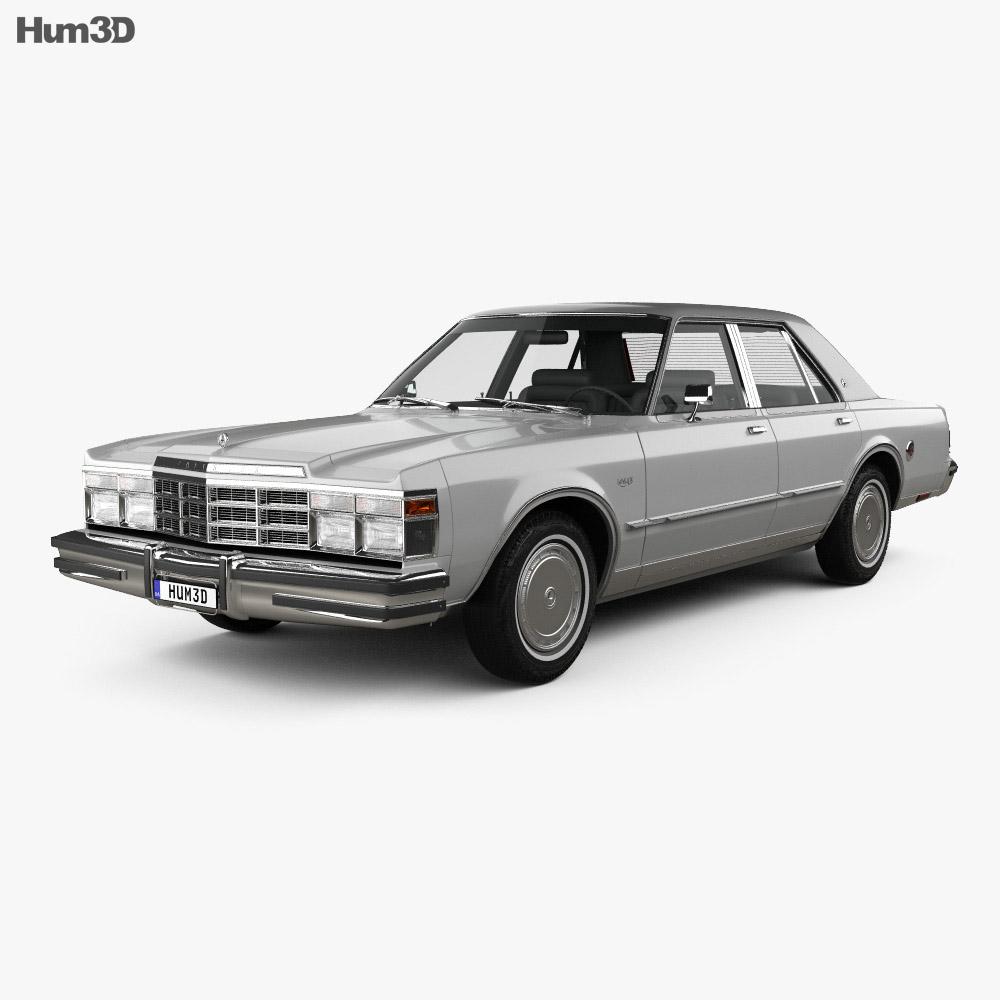 Chrysler LeBaron Medallion Sedan 1978 3d model