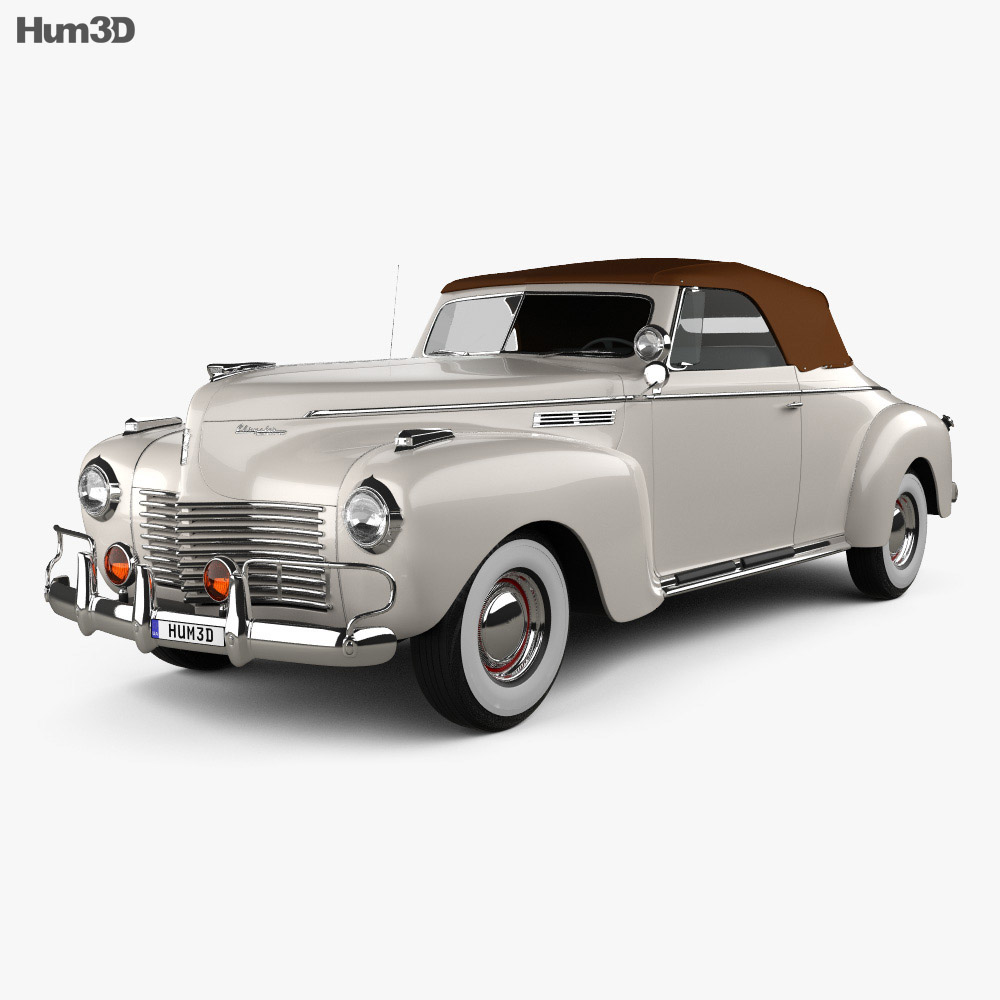 Chrysler New Yorker Highlander 1940 3d model