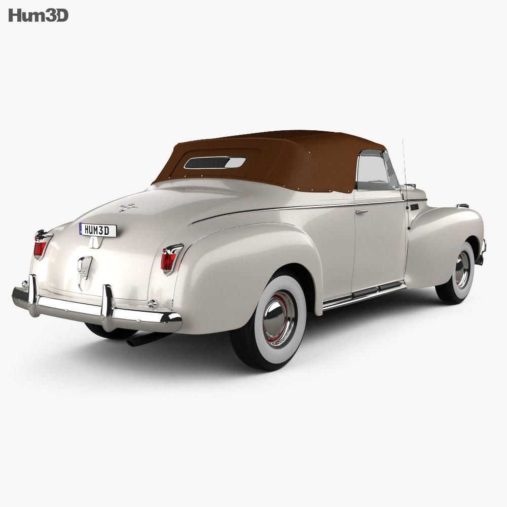 Chrysler New Yorker Highlander 1940 3d model back view