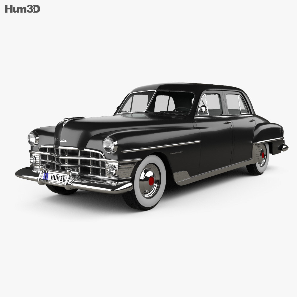 Chrysler New Yorker sedan 1950 3d car model