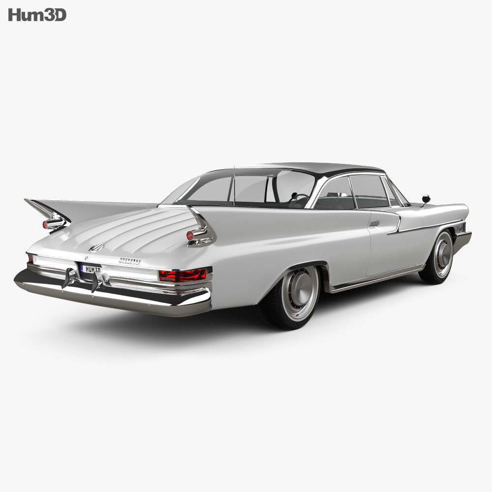 Chrysler Newport 2-door hardtop 1961 3d model