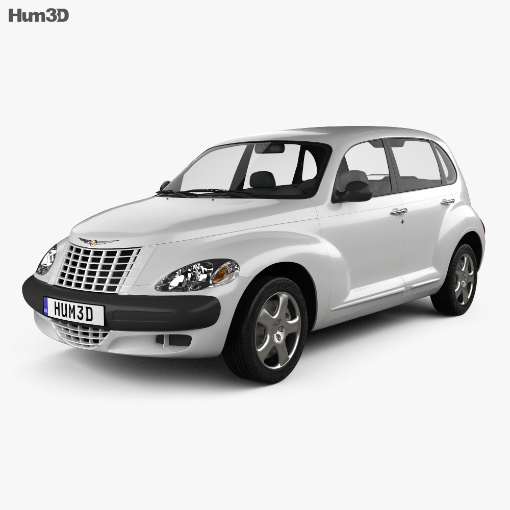 Chrysler PT Cruiser 2005 3d model