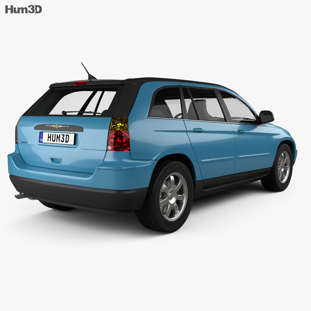 Chrysler Pacifica 2006 3d model