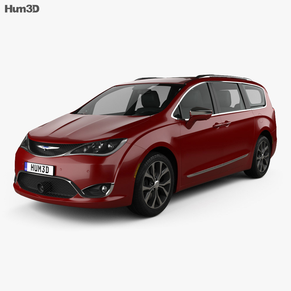 Chrysler Pacifica 2017 3d model