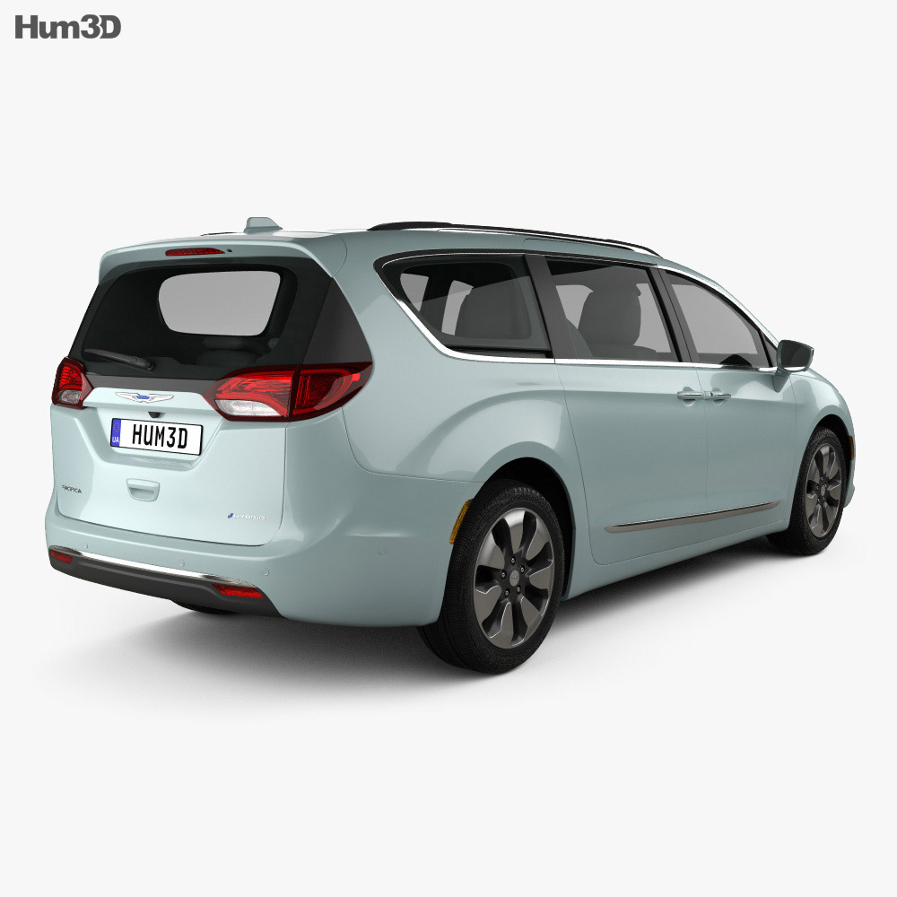 Chrysler Pacifica Hybrid 2017 3d model