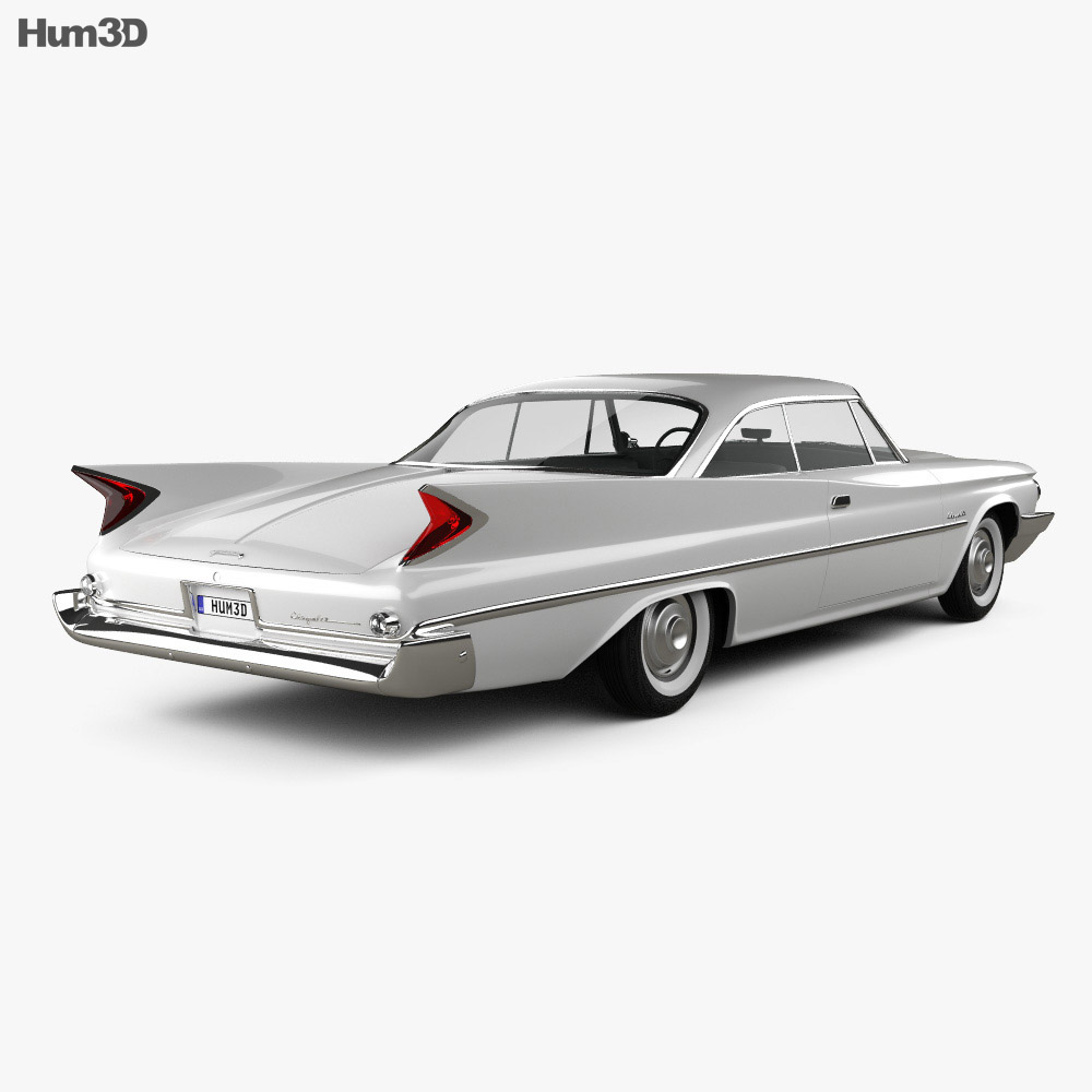 Chrysler Saratoga hardtop coupe 1960 3d model