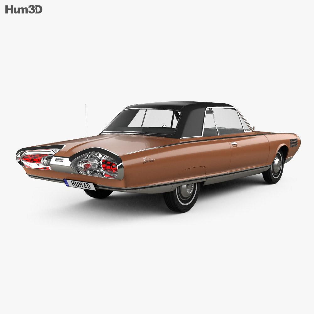 Chrysler Turbine 1963 3d model