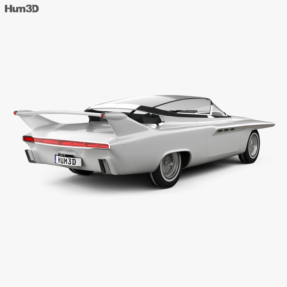 Chrysler TurboFlite 1961 3d model