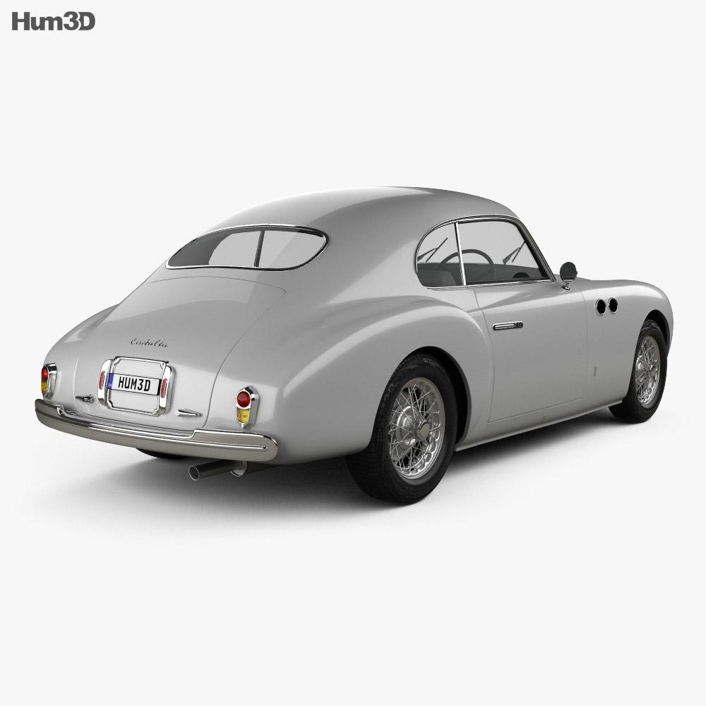 Cisitalia 202 1946 3d model
