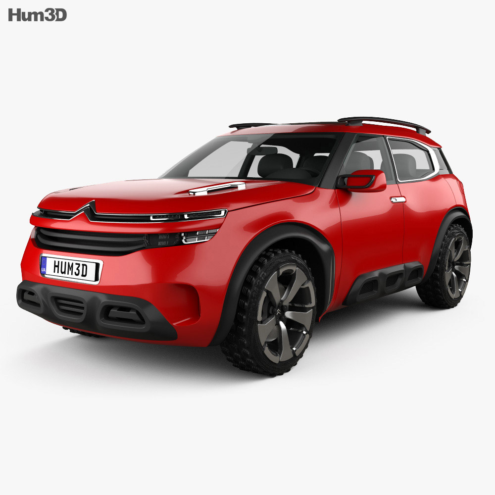 Citroen Aircross Concept 2015 3d model