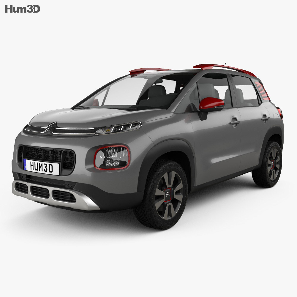 citroen c3 aircross 2018 3d model vehicles on hum3d. Black Bedroom Furniture Sets. Home Design Ideas