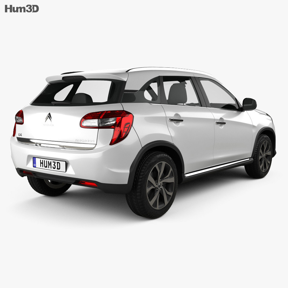 Citroen C4 Aircross 2013 3d model