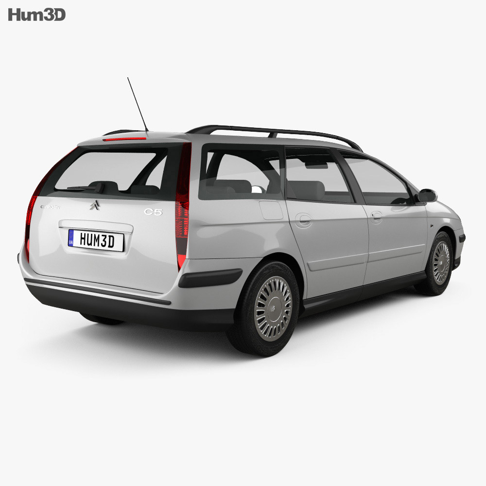 Citroen C5 break 2001 3d model