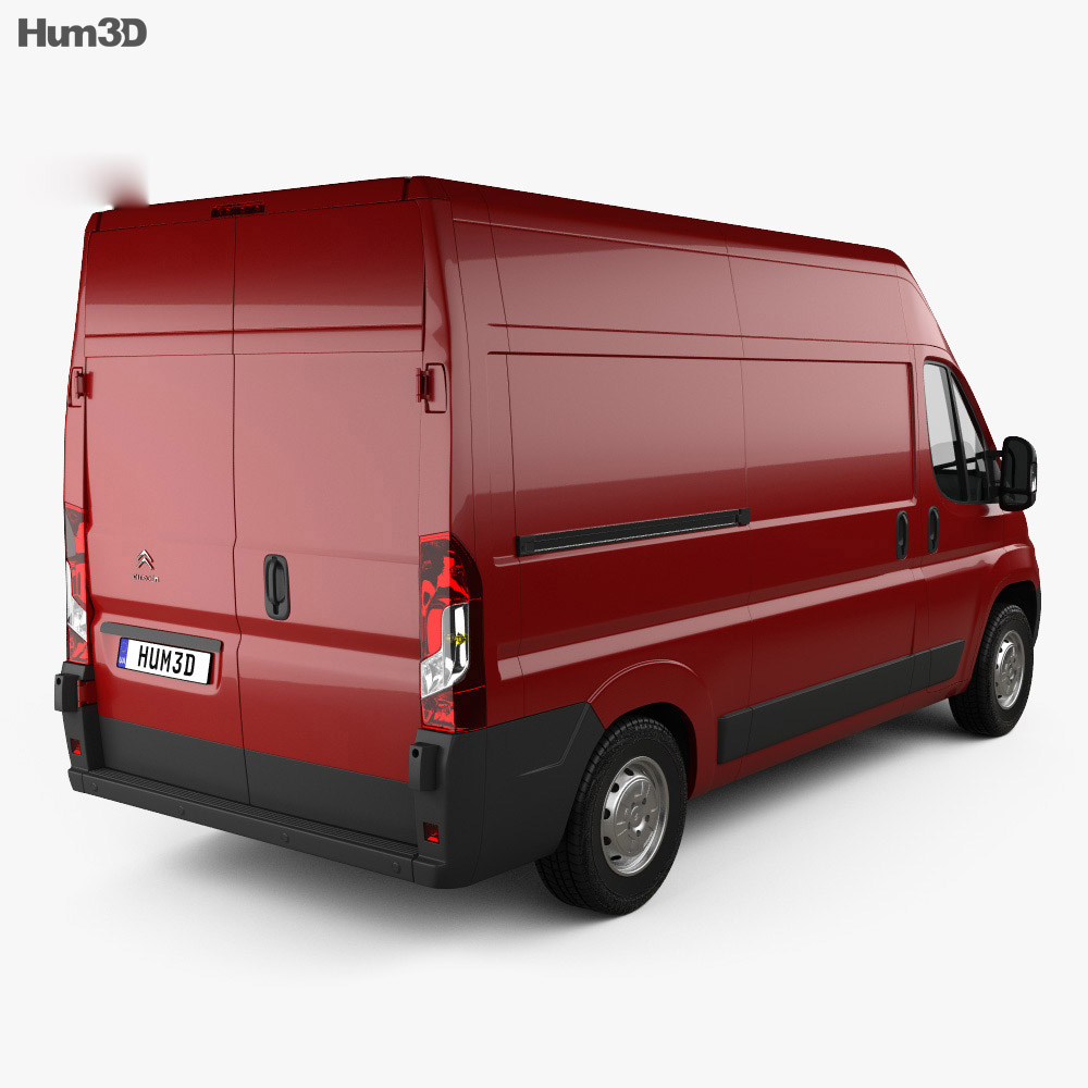 Citroen Jumper Panel Van L2H2 2015 3d model
