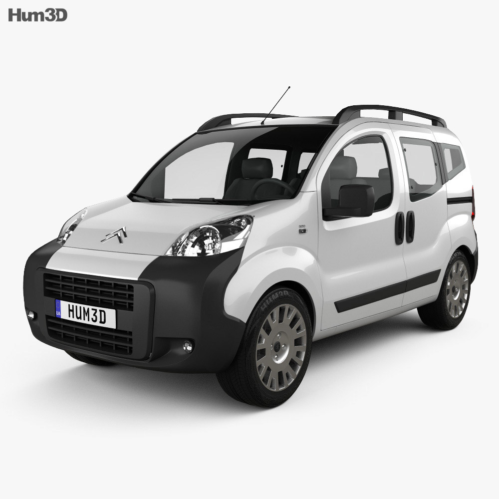 Citroen Nemo Multispace 2011 3d model