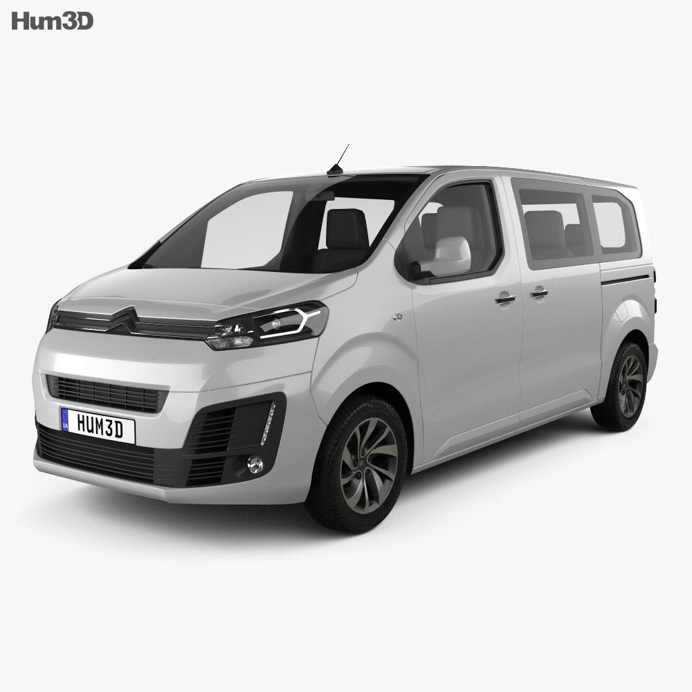 Citroen Spacetourer 2016 3d Model Humster3d