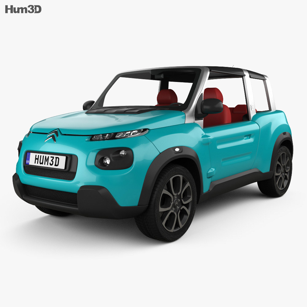 Citroen E-Mehari 2017 3d model