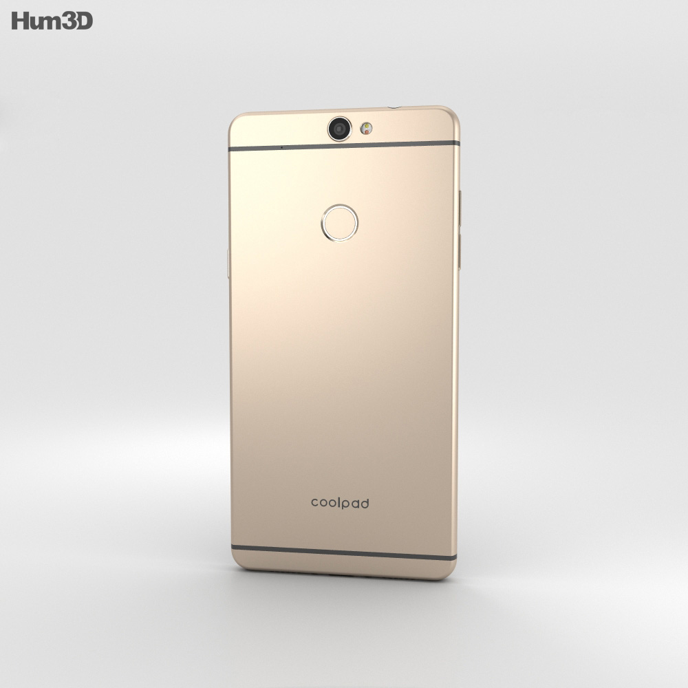 Coolpad Max Royal Gold 3d model