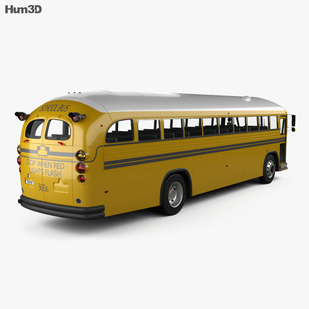 Crown Supercoach Bus 1977 3d model