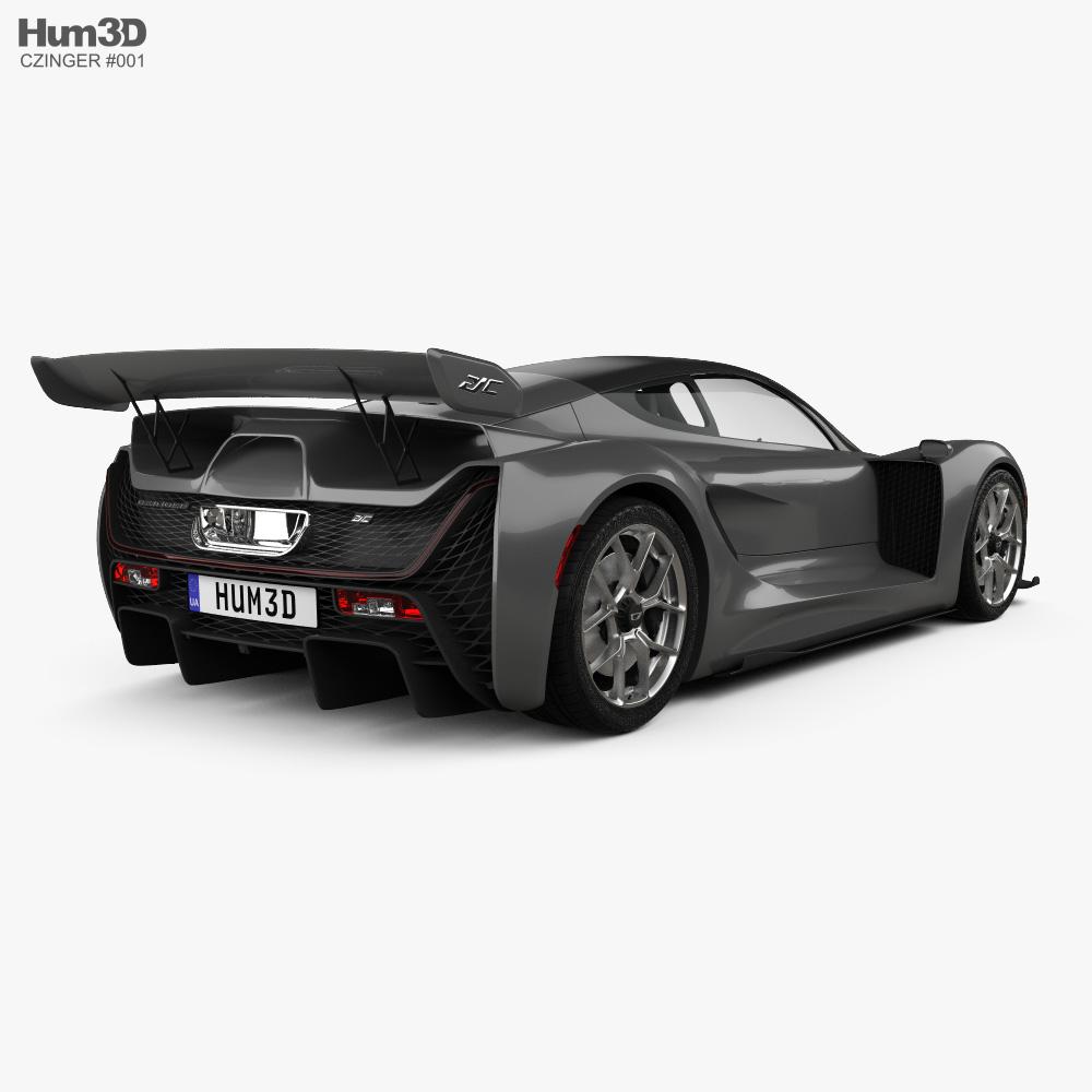 Czinger 21C 2021 3d model