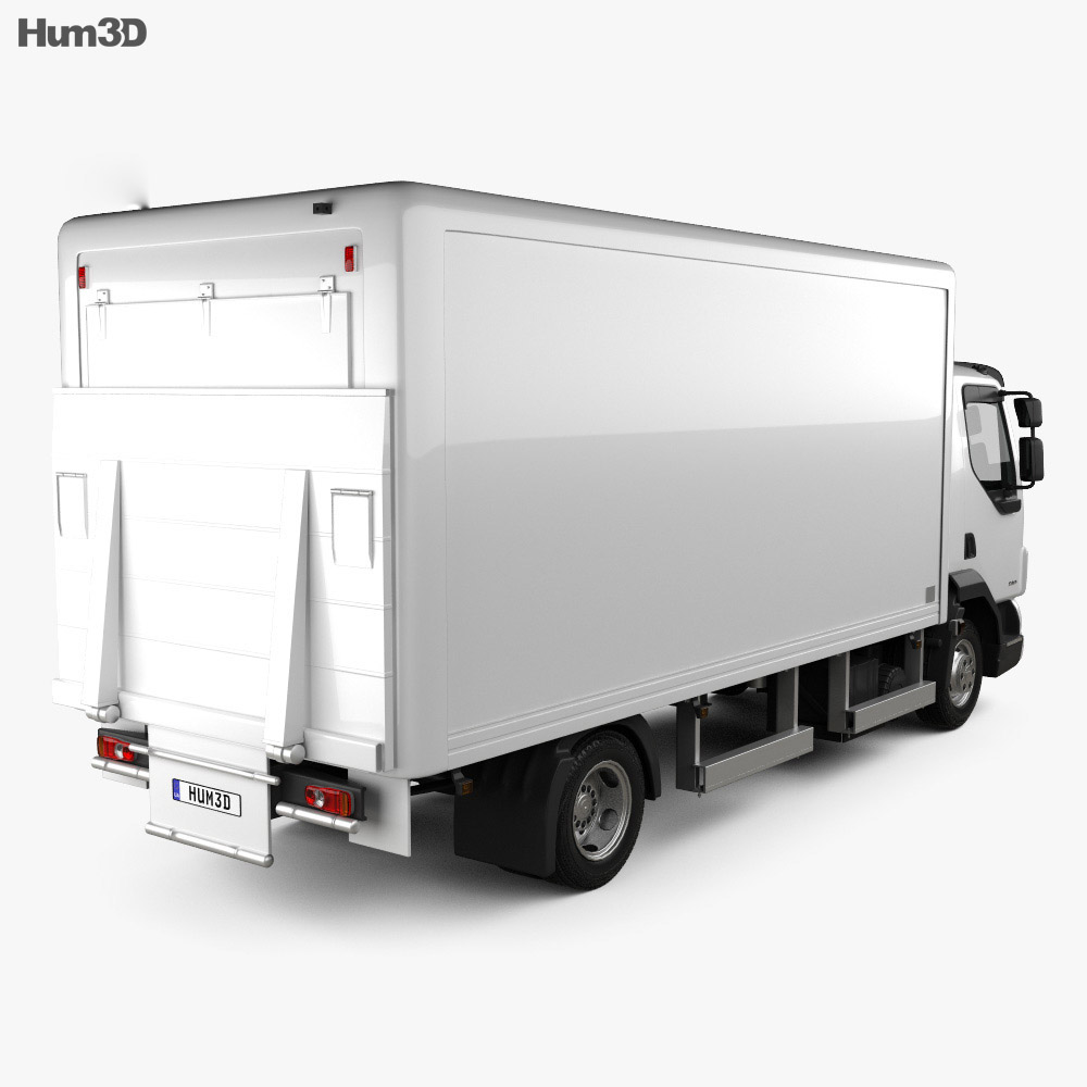 DAF LF Delivery Truck 2011 3d model
