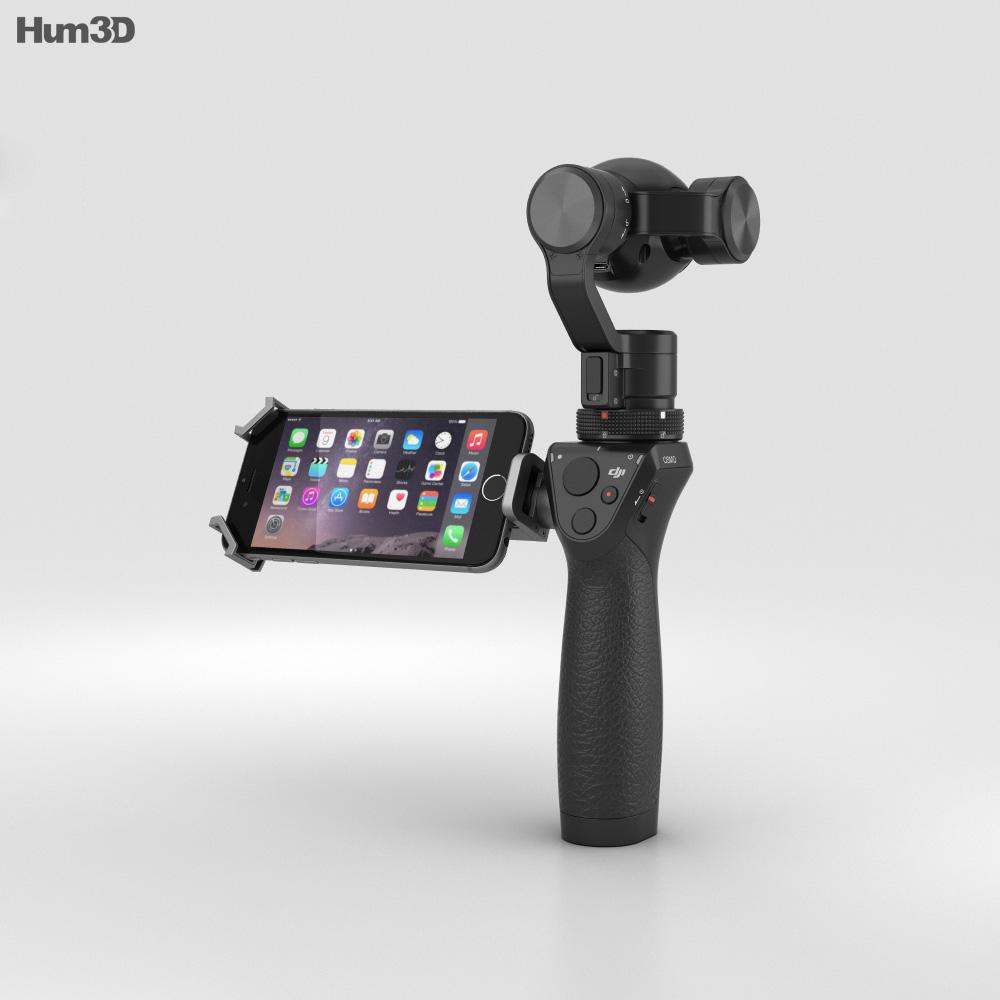 DJI Osmo Camera 3d model