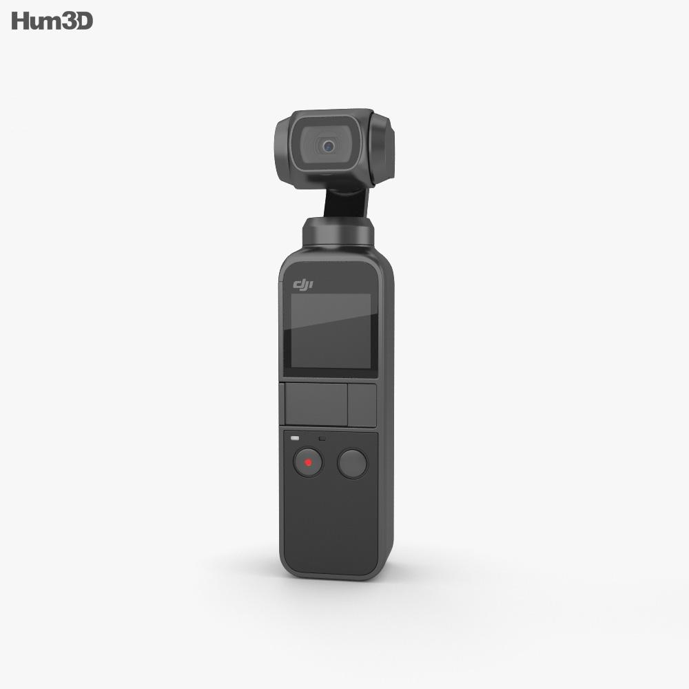 DJI Osmo Pocket 3d model
