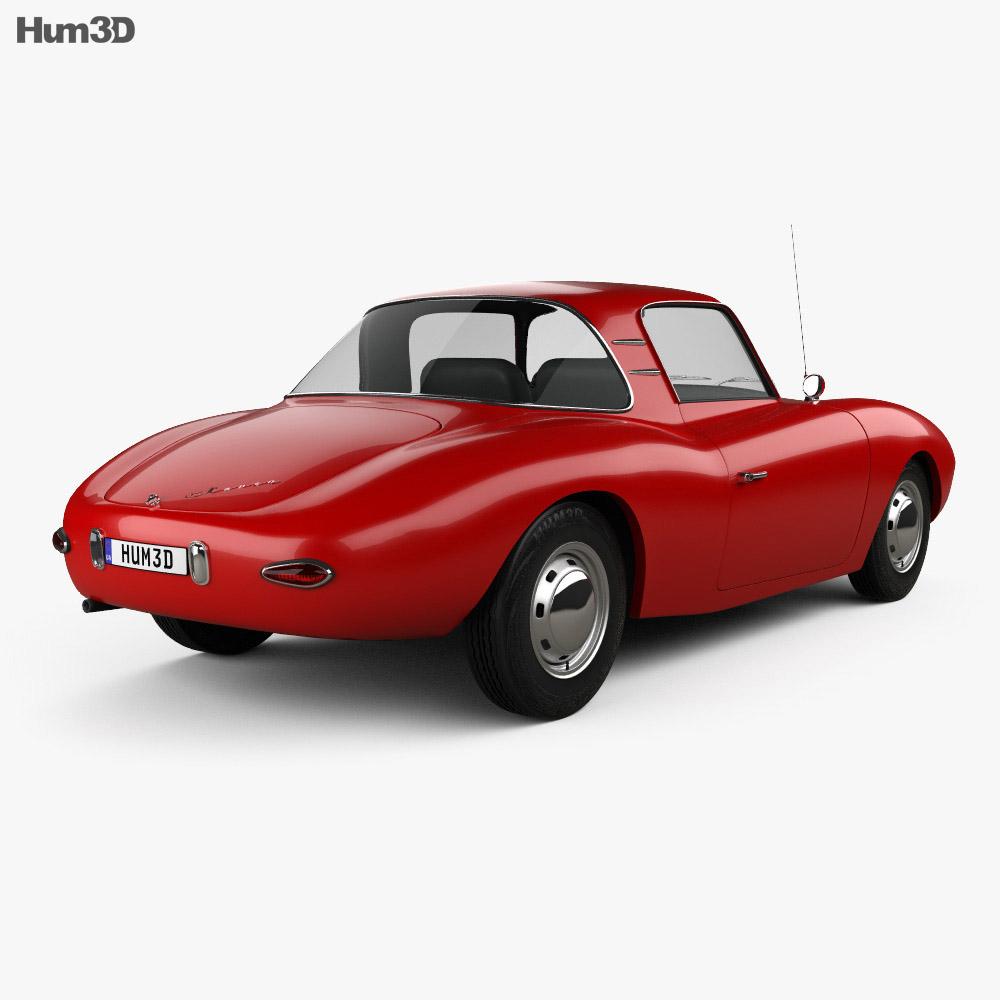 DKW 3=6 Monza 1956 3d model