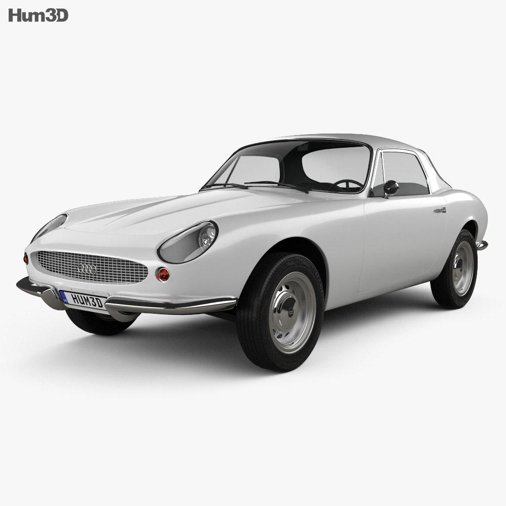 DKW Malzoni GT 1966 3d model