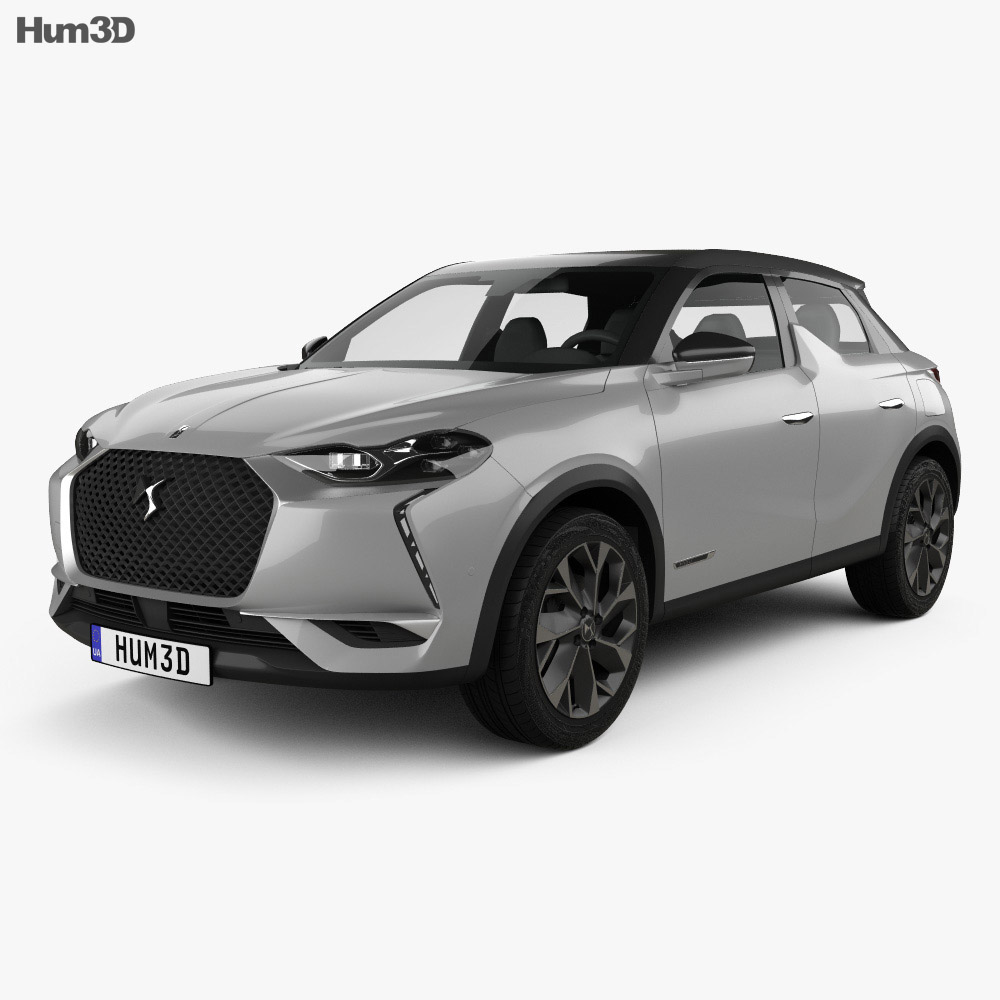 DS 3 Crossback E-Tense 2019 3d model
