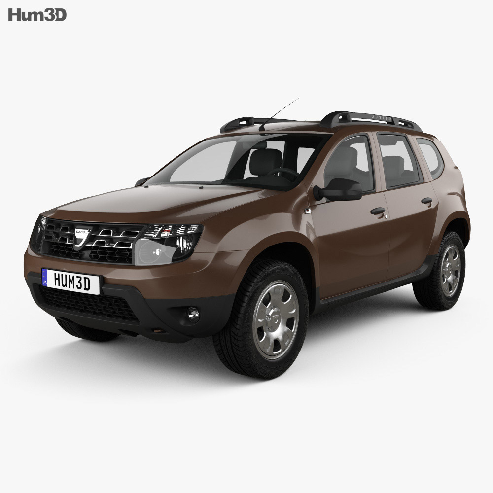dacia duster 2015 3d model vehicles on hum3d. Black Bedroom Furniture Sets. Home Design Ideas
