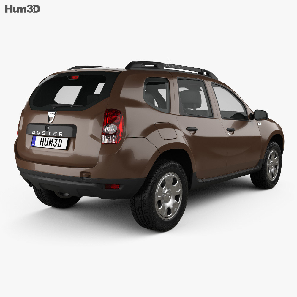 dacia duster 2015 3d model humster3d. Black Bedroom Furniture Sets. Home Design Ideas