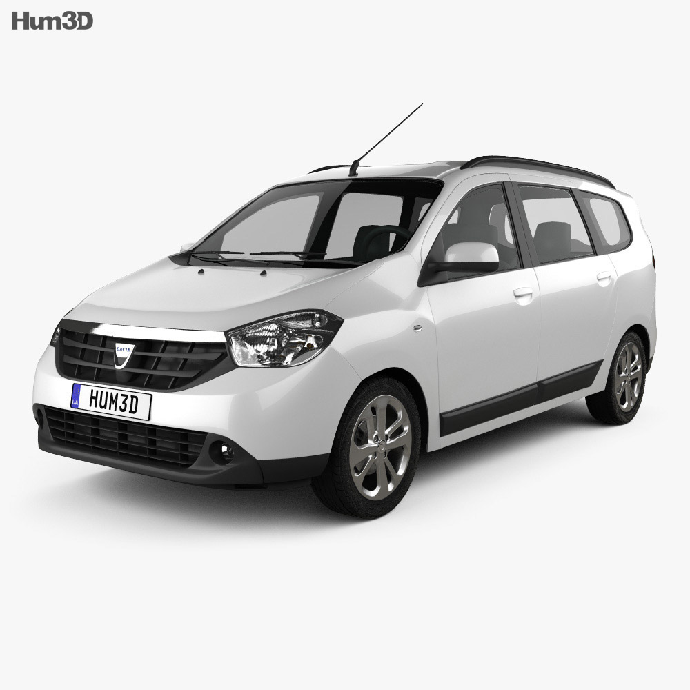 Dacia Lodgy 2012 3d model